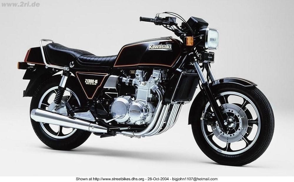 Kawasaki Z1300 Legend Of 6 Cylinder – Turn Back Cafe Racer